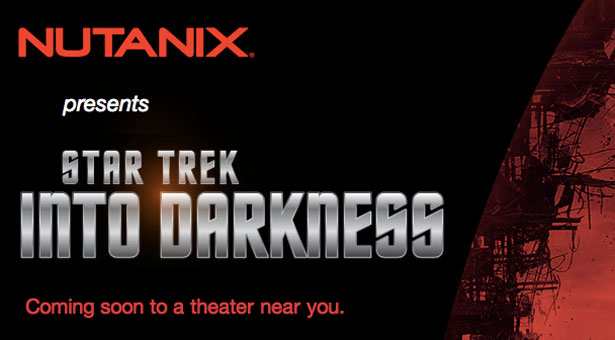 Invitation by Nutanix to join for the premier of the latest Star Trek movie