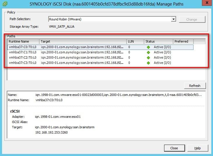 Testing vSphere 5 and Synology DS412+ – VAAI support