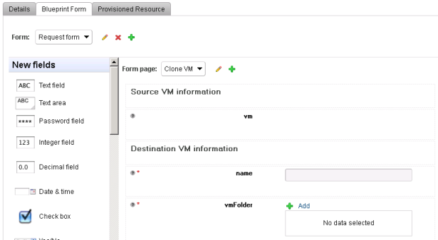 Deploying a VM with vCAC's Advanced Service Designer (part II/II)