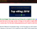 Voting now open for Top vBlog 2016!