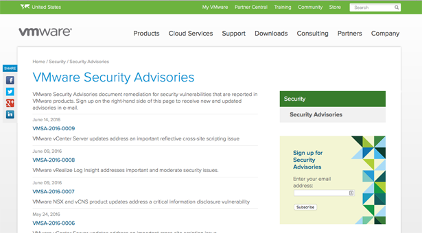 VMware security updates - Keep your systems up-to-date!
