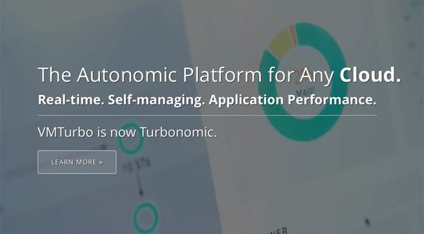VMTurbo is now Turbonomic