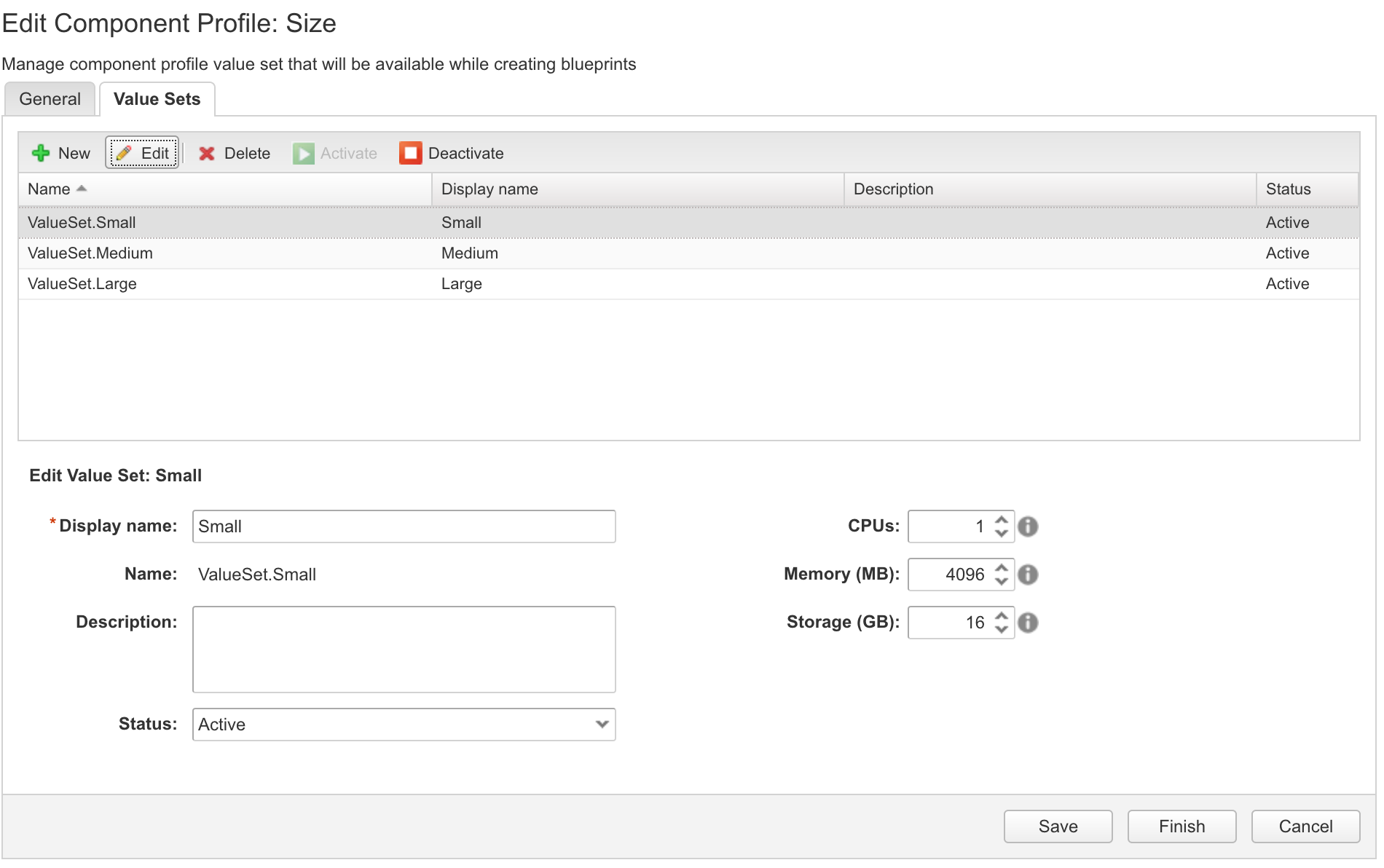 Blueprint consolidation using component profiles in vRA 7.3